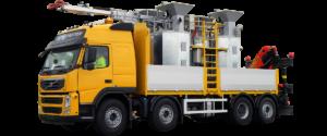 RMEs smältbilar med de mycket effektiva och välkända smältgrytorna med dubbelmantling